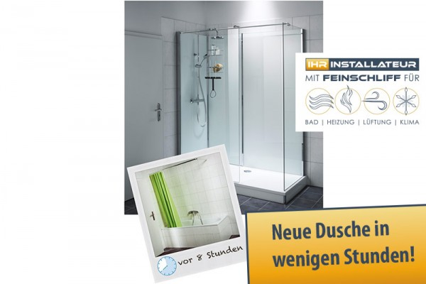 neue dusche statt alter wanne vorchdorf online. Black Bedroom Furniture Sets. Home Design Ideas
