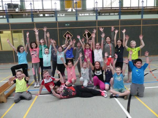 Team Vorchdorf beim Völkerballturnier
