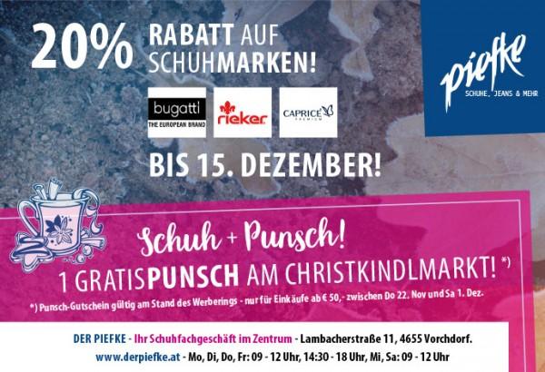 on sale 04d6b bbd5e 20 % auf Schuhmarken bei Schuhe Piefke!   Vorchdorf Online
